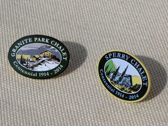 Centennial Pins - set of two - Click Image to Close