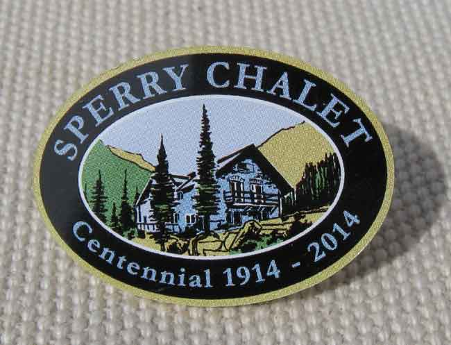 Centennial Pin - Sperry Chalet - Click Image to Close
