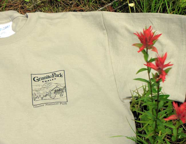 Granite Park Chalet Tee Shirt - Click Image to Close